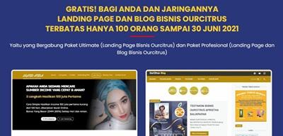 gratis landing page