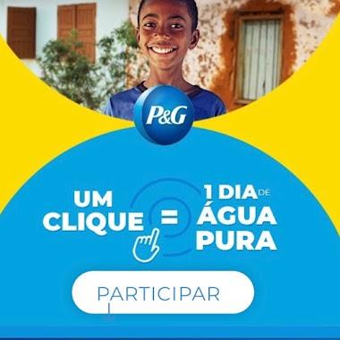 Campanha P&G - Um clique = 1 dia de água pura