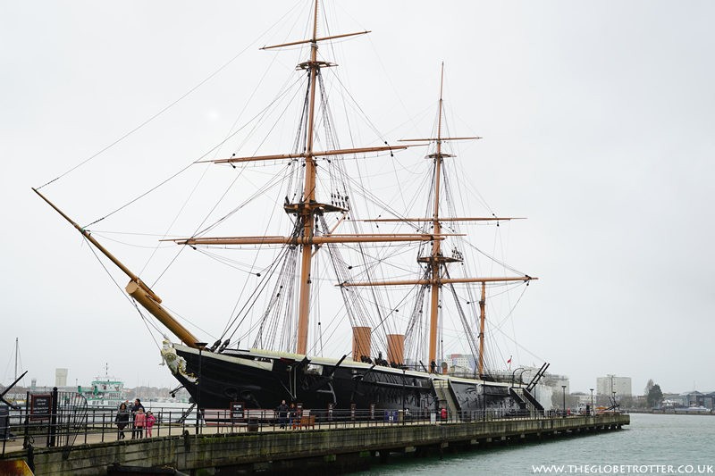 The Historic Dockyard in Portsmouth