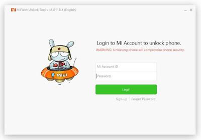 Download Mi Flash Unlock Tool : Untuk Melakukan Unlock Bootloader Smartphone Xiaomi Terbaru