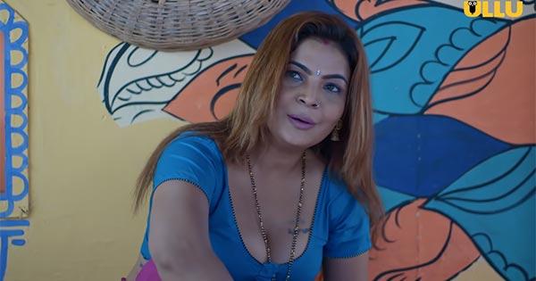 mahi kaur actress as mami palang tod gaon ki garmi ullu app