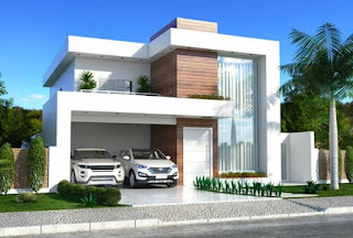 Facade Modern House Ideas 2020 salahsatu.com moderen house ideas top modern house facade design ideas