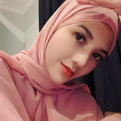 Alodya Desi Pakai Hijab