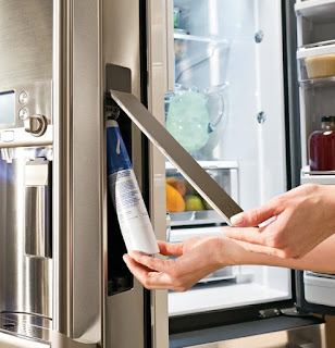 Refrigerator filter cleaning