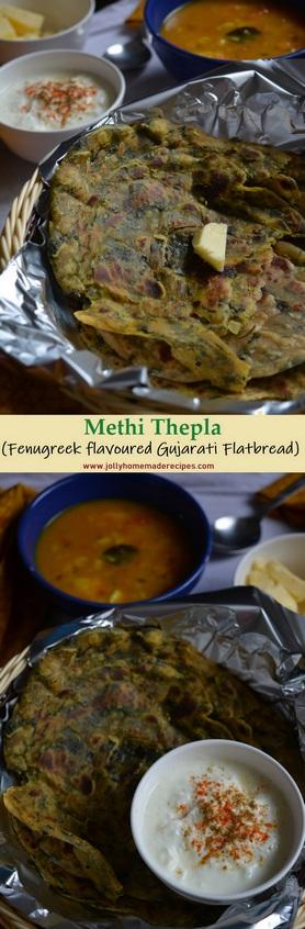 Gujarati Methi Thepla Recipe