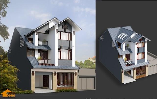 Hồ sơ thiết kế biệt thự phố 10x15 mét đầy đủ các thành phần