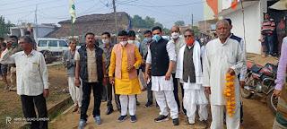 मंत्री श्री कावरे ने 124.54 लाख रुपये की नलजल योजना का किया भूमिपूजन