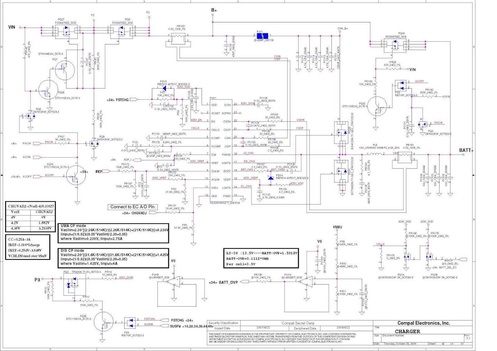 Laptop Lab Schematics: Lenovo IdeaPad G460 Z460 G560 Z560