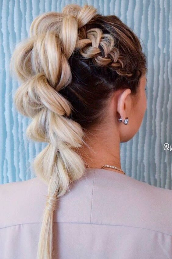 Trendy Hairstyle for Stylish Summer Look