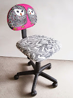 Relooker chaise de bureau