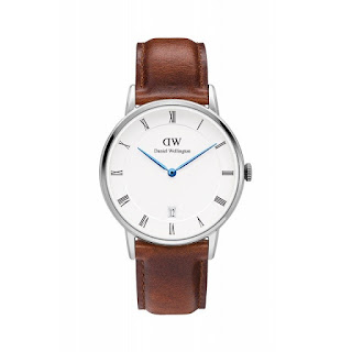 DANIEL WELLINGTON Ladies Dapper St Mawes 34mm Silver