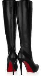 Christian Louboutin Simple Botta 120 Leather Boots, Net-a-Porter.com