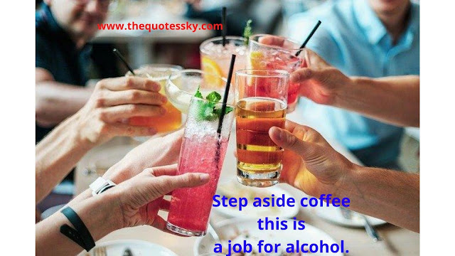 99+ Alcohol & Drinking Quotes and Status
