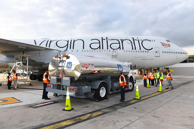 Virgin Atlantic Now Makes Aviation Fuel From Recycle Waste