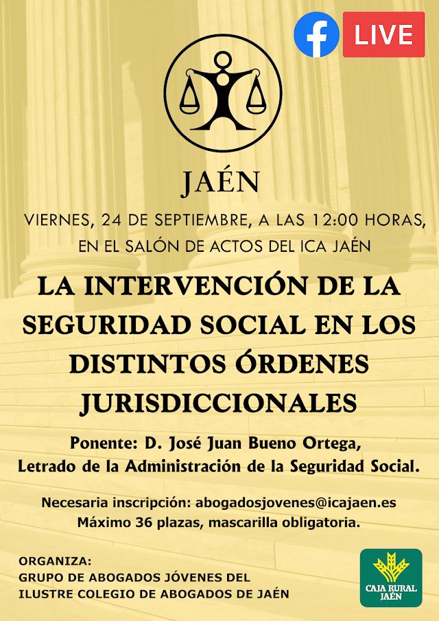 Ponencia GAJ: La intervención de la Seguridad Social en los distintos Órdenes Jurisdiccionales