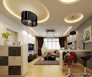Gypsum Board False Ceiling Designs 11