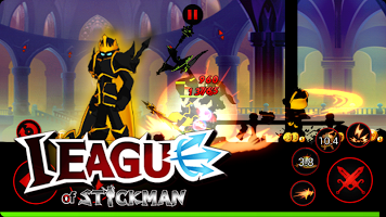Free Download League Of Stickman 2017 Ninja MOD APK Full Version Unlimited Money + Gems for Android