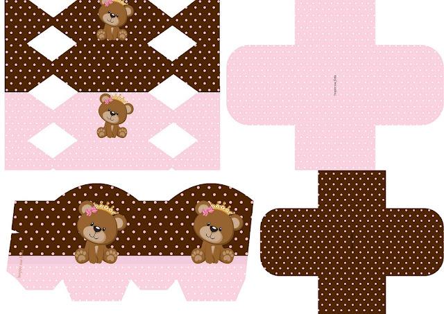 Princes Bear: Free Printable Boxes.