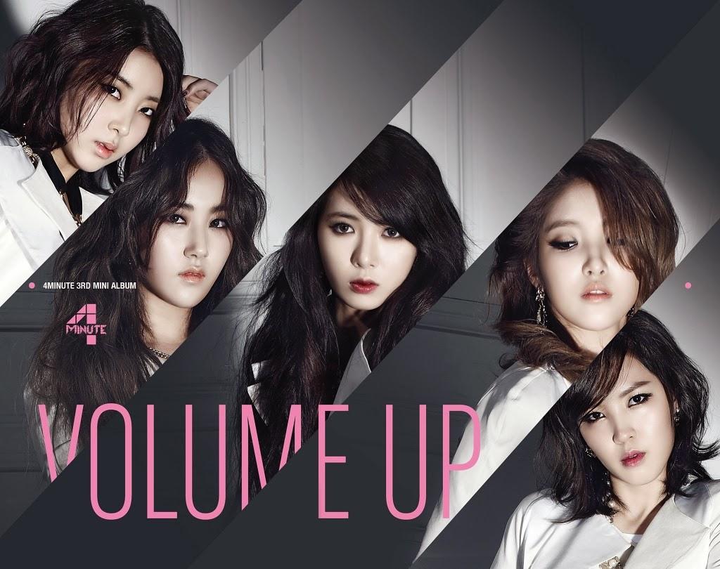 [Mini Album] 4Minute – Volume Up [FLAC]