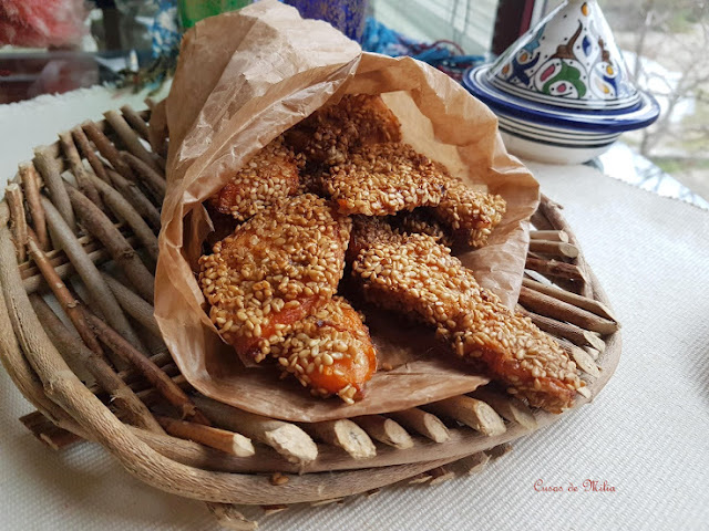 Calabaza empanada al estilo marroquí #lunessincarne