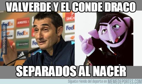 Valverde y el Conde Draco, parecidos razonables