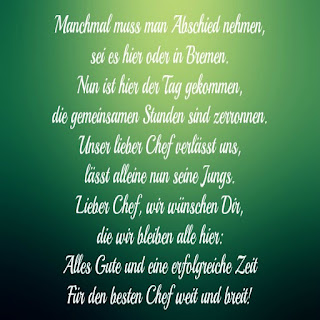 Spruch Abschied Kollege Jobwechsel Woodenbild