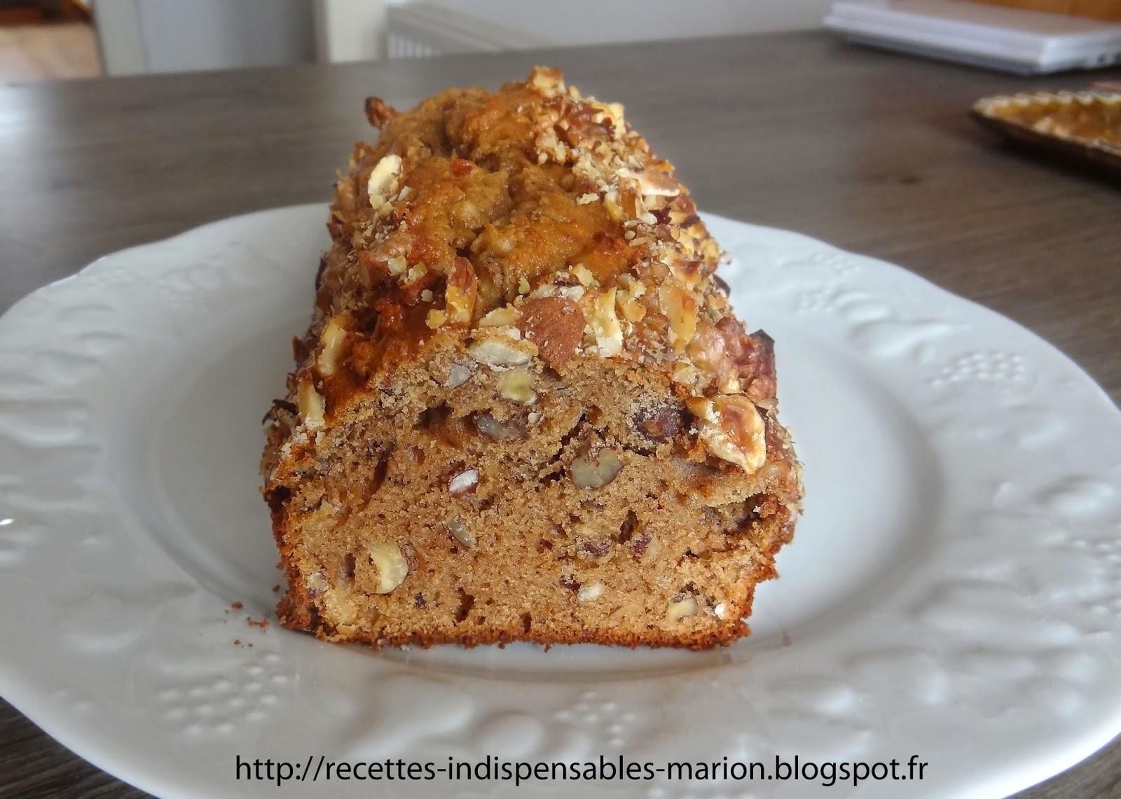 Cake Farine De Chataigne Et Noix