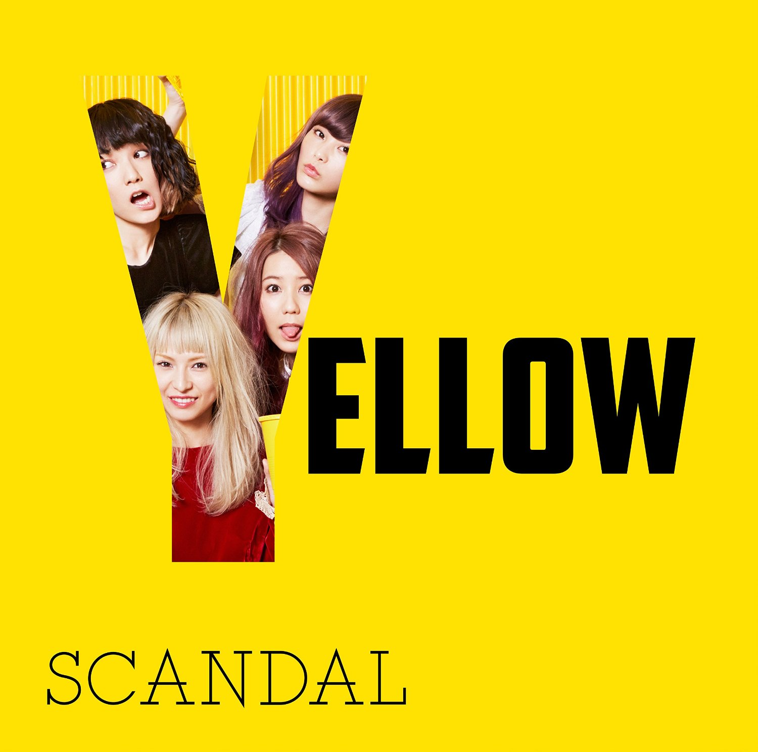 SCANDAL YELLOW New Album 2016 Cover