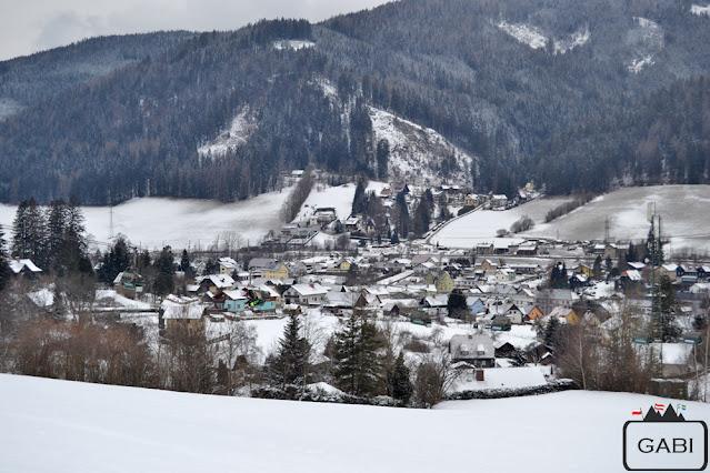 Austria Spital am Semmering zimą