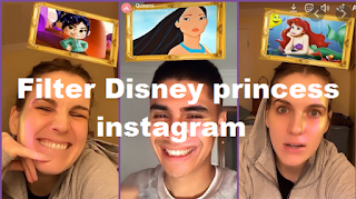 Filter Disney princess instagram || How to get Disney princess filter instagram