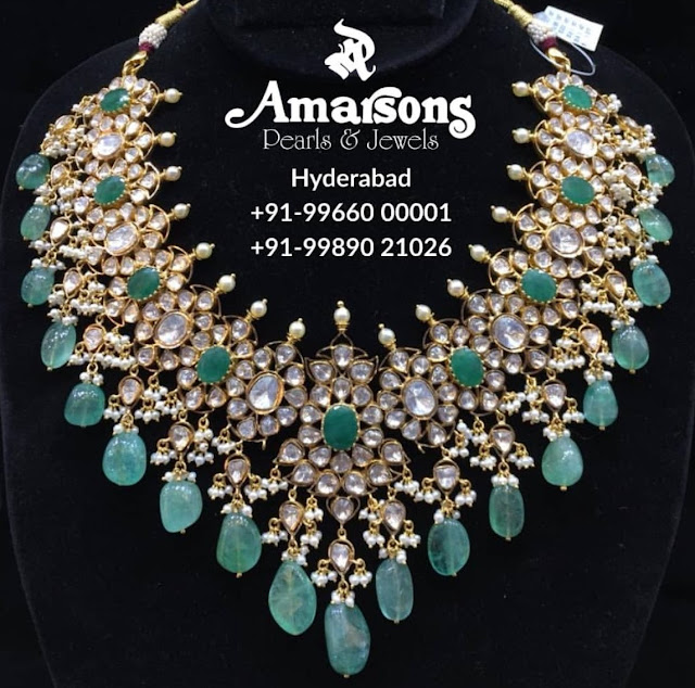 Exclusive Pachi Work Choker by Amarsons