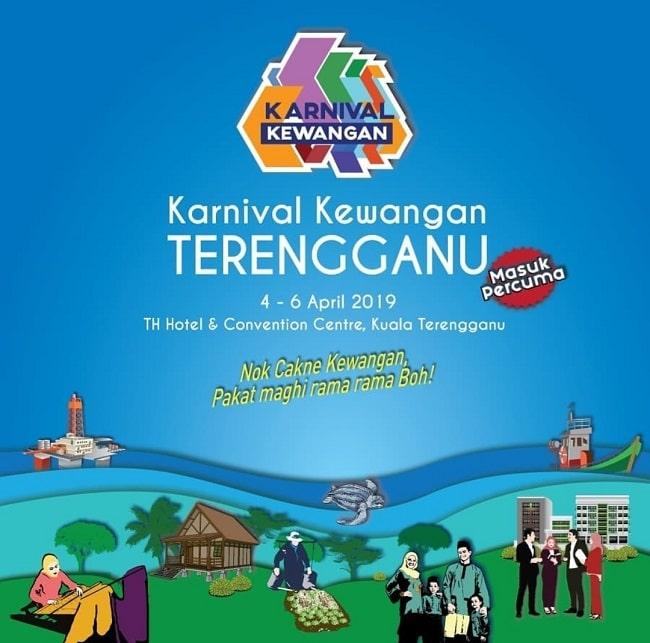 BANK NEGARA MALAYSIA MENGANJURKAN KARNIVAL KEWANGAN TERENGGANU DI TH HOTEL AND CONVENTION CENTRE DARI 4 – 6 APRIL