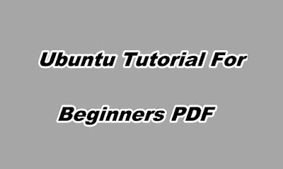 Ubuntu Tutorial For Beginners PDF