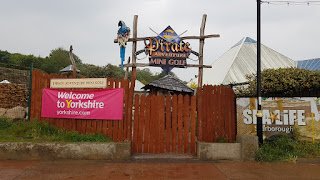 The Merlin Pirate Adventure Mini Golf course at the Sea Life Centre in Scarborough
