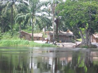 el río Congo, El Cubano, Cuba, Colombia