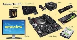 computer parts name