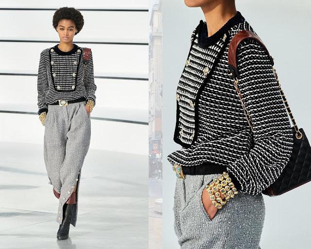Chanel осень 2020 зима 2021 8