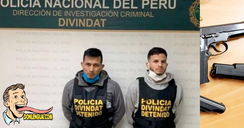 Venezolanos capturados en Perú ejecutaban robos electrónicos con una nueva modalidad