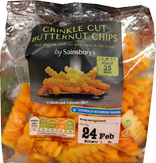 Sainsbury's butternut squash crinkle cut chips