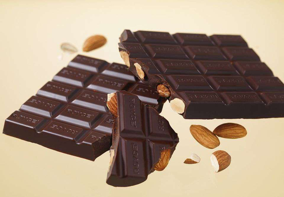 National Bittersweet Chocolate with Almonds Day Wishes Awesome Picture