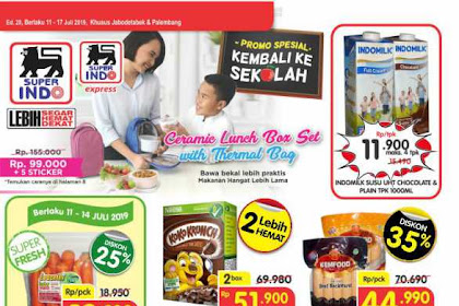Katalog Promo Superindo Periode 18 - 24 Juli 2019
