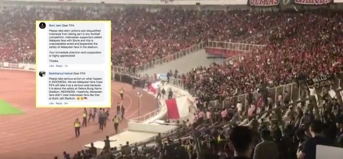 Rakyat Malaysia Hujani Ruangan Komen FIFA, Minta Indonesia Dikenakan Tindakan Tegas, 'Ban' Dari Sukan Bola Sepak