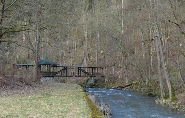 Jungfernsteg im Höllental, Frankenwald
