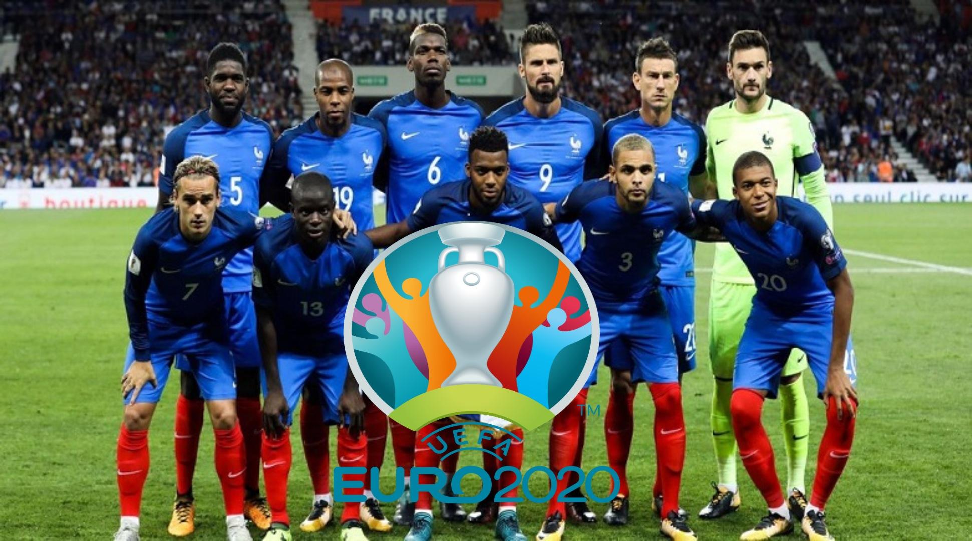 Senarai Rasmi Pemain Perancis EURO 2020