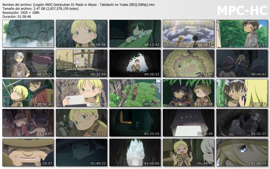 Made in Abyss Movie 1: Tabidachi no Yoake [Jap/Sub][Latino][8Bits][x264][BD][1080p]