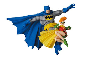 The Dark Knight Returns Batman & Robin MAFEX Action Figure Set by Medicom Toy