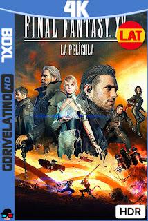 Final Fantasy XV: La Película (2016) BDXL 4K HDR Latino-Ingles ISO