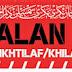 PERSOALAN BID'AH DALAM MASALAH IKHTILAF/KHILAF PERKARA FURUK