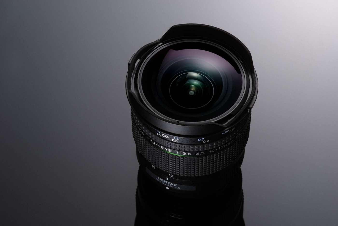 Объектив HD Pentax-DA Fisheye 10-17mm f/3.5-4.5 ED