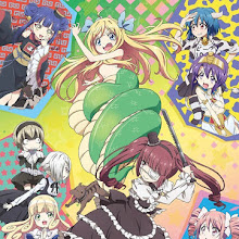"""La segunda temporada del anime """"Jashin-chan Dropkick"""", revela nueva imagen promocional."""